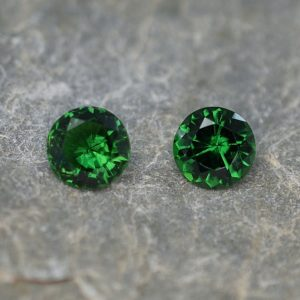 ChromeTourmaline_round_pair_5.0mm_0.82cts_ct207