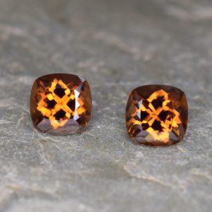 OrangeZircon_sq_cush_pair_7.5mm_5.97cts_b
