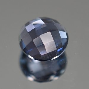 BlueSpinel_rose_cut_round_5.9mm_0.84cts_sp248