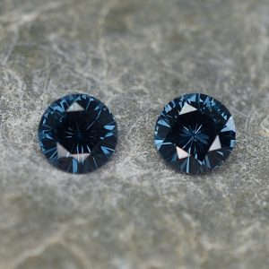BlueSpinel_round_pair_5.0mm_0.98cts_sp293