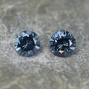 GreySpinel_round_pair_4.5mm_0.77cts_sp289