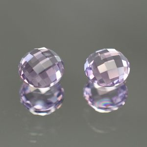 LavenderSpinel_rose_cut_round_pair_5.0mm_1.07cts_sp241