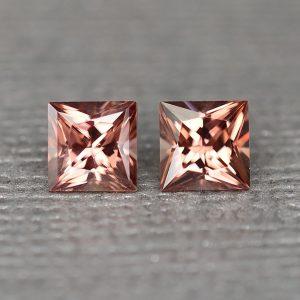 RoseZircon_princess_pair_5.0mm_1.93cts_zn2493
