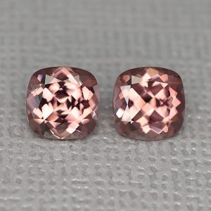 RoseZircon_sq_cush_pair_6.5mm_3.50cts_zn1727