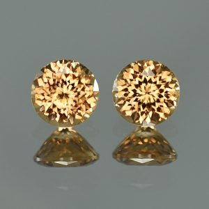 YellowOrangeZircon_round_pair_6.5mm_3.46cts_zn3222