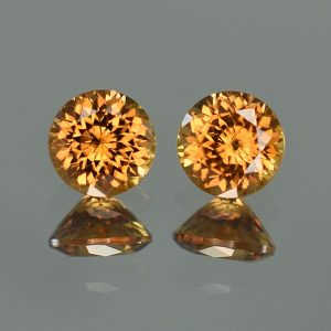 YellowOrangeZircon_round_pair_7.0mm_4.32cts_zn3223