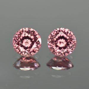 RoseZircon_round_pair_8.7mm_7.21cts_zn3212