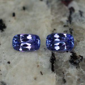 Tanzanite_cushion_pair_7.3x4.7mm_1.99cts_tz162