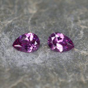 PurpleGarnet_pearshape_pair_6.5x4.5mm_1.20cts_pl145