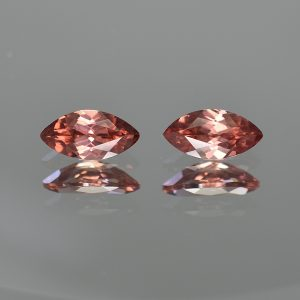RoseZircon_marquise_pair_11.0x5.5mm_4.17cts_zn1185