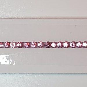 PinkSpinel_bracelet_line_round_3.0mm_7.62cts_SP502