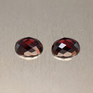 RedGarnet_rosecut_oval_pair_7.0x5.0mm_2.32cts_rg236