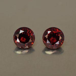 RedGarnet_round_pair_5.0mm_1.30cts_rg105