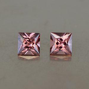 RoseZircon_princess_pair_4.5mm_1.39cts_zn2492