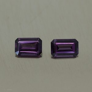 PurpleSpinel_eme_cut_pair_5.8x3.8mm_0.87cts_sp407