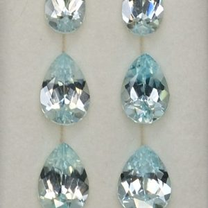 IceBlueZircon_Earrings_Suite_pear_6.0x4.0-8.0x5.0mm_8.75cts_10pcs_zn1937