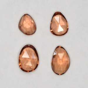 ImperialZircon_freeform_rose_cuts_0.50-0.99cts_3.23cts_4pcs_zn2898