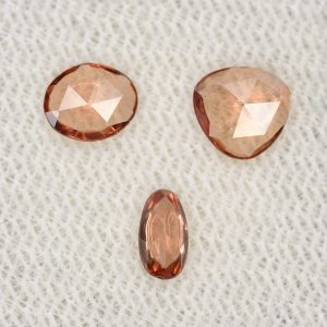 ImperialZircon_freeform_rose_cuts_under0.50cts_1.05cts_3pcs_zn2901