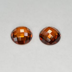 OrangeZircon_round_rose_cut_pair_11.5mm_15.02cts_N_b_zn1387