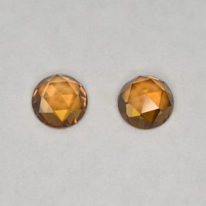 OrangeZircon_round_rose_cut_pair_6.0mm_2.57cts_N_a_zn2837