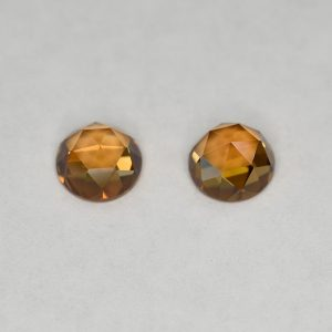 OrangeZircon_round_rose_cut_pair_6.0mm_2.57cts_N_b_zn2837