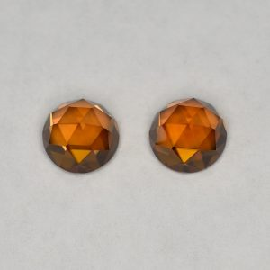 OrangeZircon_round_rose_cut_pair_6.0mm_2.95cts_N_a_zn2835