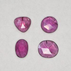 PurpleGarnet_freeform_rose_cut_1.00-1.49cts_4.96cts_4pcs_pl461