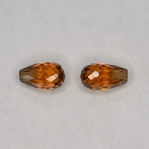 YellowOrangeZircon_briolette_pair_7.0x4.0mm_2.95cts_N_zn2838