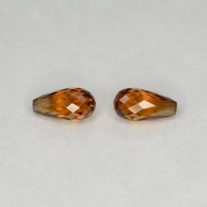 YellowOrangeZircon_briolette_pair_8.0x4.0mm_3.09cts_N_zn2839