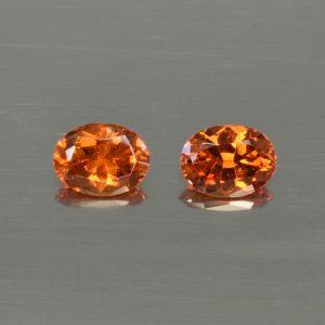 OrangeGrossular_oval_pair_6.4x4.9mm_1.47cts_og114