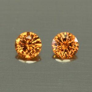 OrangeGrossular_round_pair_4.0mm_0.53cts_og148