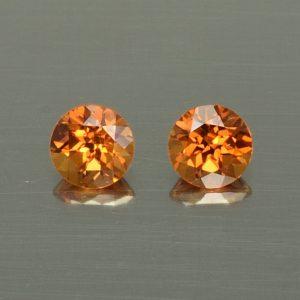 OrangeGrossular_round_pair_4.0mm_0.63cts_og146