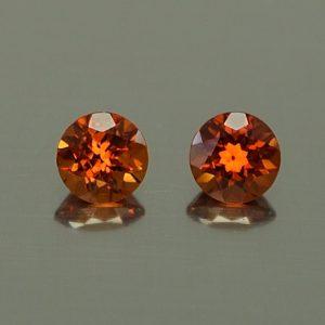 OrangeGrossular_round_pair_4.0mm_0.63cts_og147