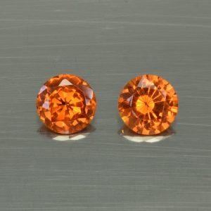 OrangeGrossular_round_pair_5.8mm_1.43cts_og115