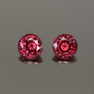 Rhodolite_round_pair_7.5mm_4.26cts_rh314