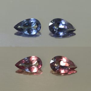 ColorChangeGarnet_pear_pair_9.0x5.7_5.3mm_2.42cts_N_cc302_combo